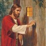 christ knocking on door