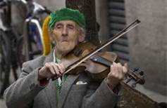Old man violin