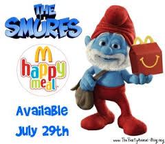 McDonald's Papa Smurf
