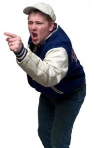 yelling coach