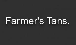 farmers tan