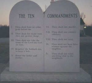 ten commanments