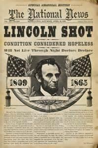 Lincoln newspaper