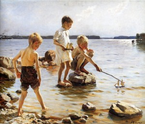 boys-playing-at-the-beach