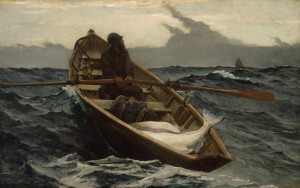 Winslow Homer, The fog warning, 1885