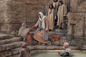 jesus christ pool of